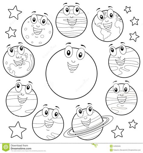 Galerry free printable planet book