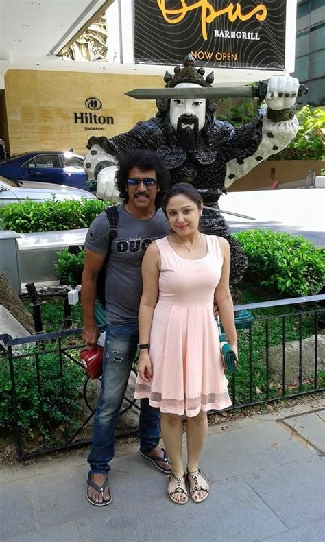 actor priyanka upendra upendra and priyanka family trip photos images gallery