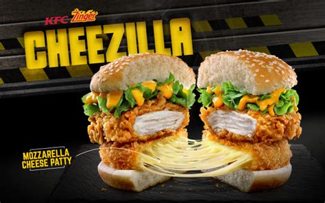 kfc new year promotion kfc zinger cheezilla new menu promotion