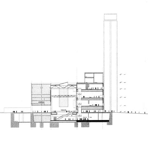 Floor Plans With Measurements by Gallery Of Ad Classics The Tate Modern Herzog Amp De