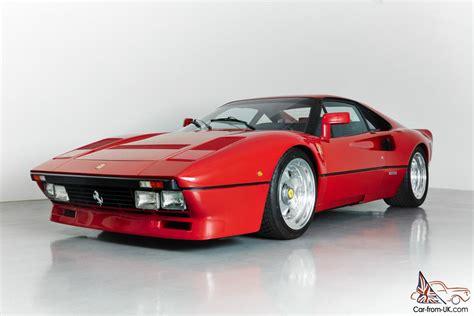 Ferrari Gto 308 by 1976 Ferrari 308 288 Gto Recreation Just Fully Serviced