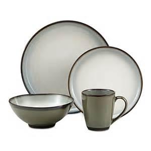 sango 174 concepts 16 piece dinnerware set in avocado bed bath beyond