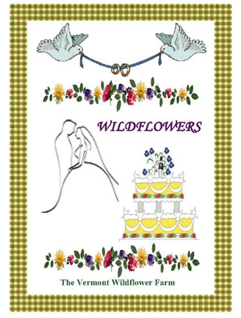 Wedding Cake Seeds by Wedding Cake Seed Packet