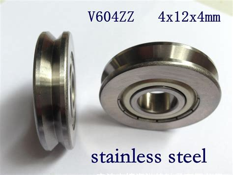 Sale Bearing Laher 6201 Zz Asb aliexpress buy 20pcs v604zz stainless steel v groove