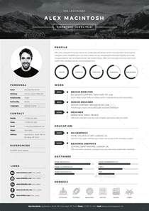 Best Resume Designs by 20 Best Resume Templates Web Amp Graphic Design Bashooka