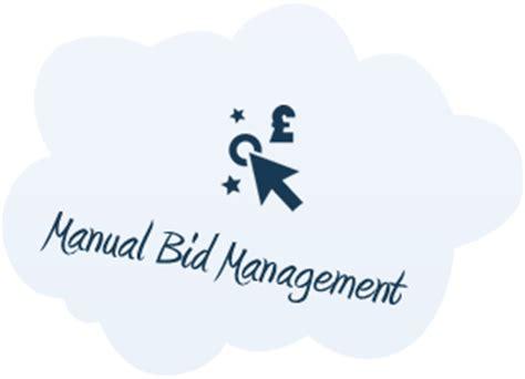 pay per click bid management manual bid management ppc services social media ltd