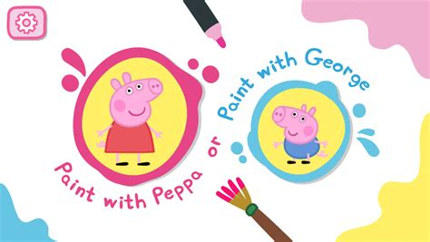 peppa pig painting free peppa pig paintbox android apps on play
