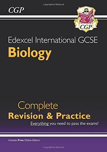 edexcel international gcse biology 1510405194 edexcel certificate international gcse biology complete revision practice with online edition