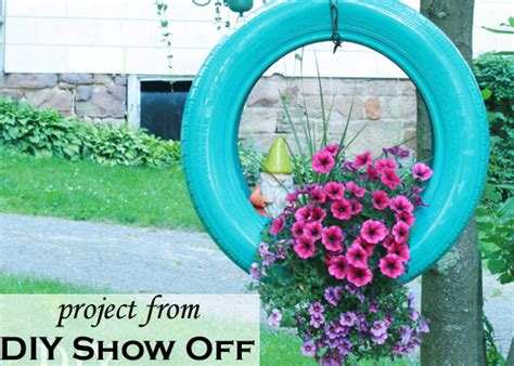 make a diy painted tire planter from tires creative