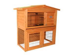 Wooden Rabbit Hutches Confidence Pet 40 Rabbit Hutch Bunny Guinea Pig Cage Pen