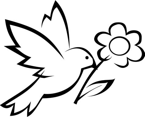 printable bird  flower coloring pages  preschoolers
