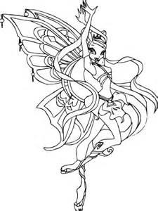 Coloriage Stella Enchantix Winx 224 Imprimer