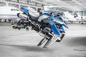 Bmw Bike Bmw S R1200gs Hover Bike Concept Visordown