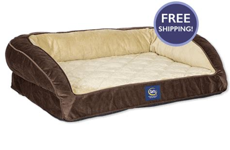 Serta Pet Bed Serta Deluxe Couch Pet Bed