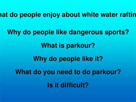 why do people extreme sports