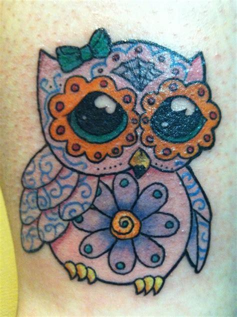 tattoo owl sugar skull sugar skull owl tattoo best home decorating ideas
