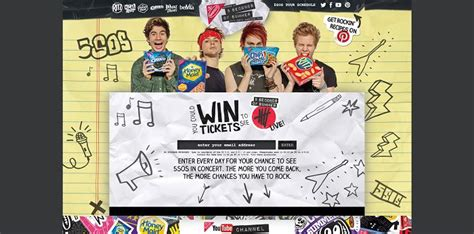 Back To School Sweepstakes 2015 - nabisco5sos com 5 seconds of summer back to school sweepstakes and instant win game