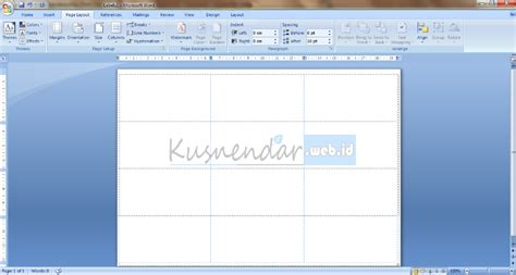 tutorial membuat label undangan di word tutorial membuat template label undangan di word 2007