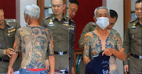 tattoo cu ng yakuza protv fostul lider yakuza prins dupa ce politistii i au