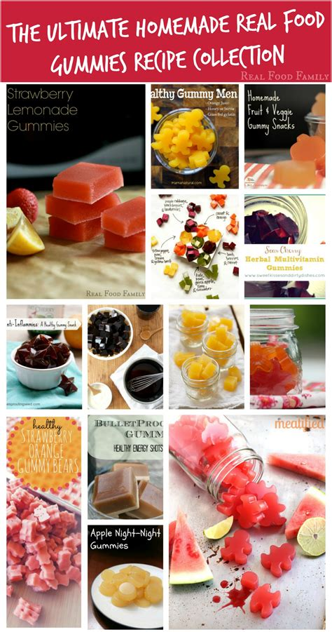 Handmade Real Foods - the ultimate real food gummies recipe collection