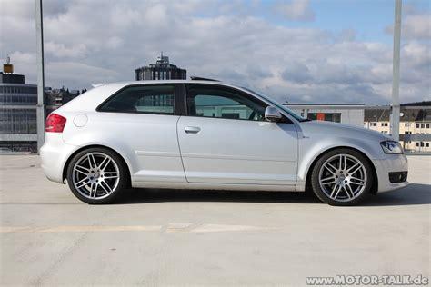 Tieferlegungsfedern Audi A3 8p by 50mm Schlichte Tieferlegung Audi A3 8p 8pa 203332039
