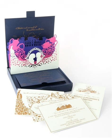 5 amazing pop up wedding invitations onewed