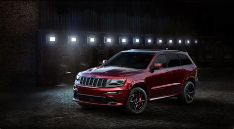 Customized Jeep Grand The Jeep Srt With Custom Wheels Is Stealthy
