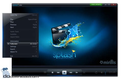 full hd video player for pc splash lite hd video player image the ultimate hd video
