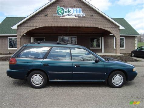 subaru station wagon green 1994 subaru legacy l wagon related infomation