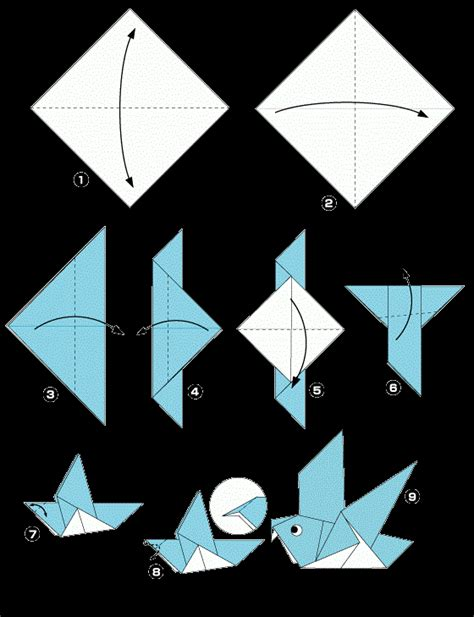 cara membuat origami burung sederhana cara membuat origami naga 28 images diagram cara