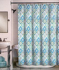 72x80 shower curtain tahari luxury cotton blend shower curtain turquoise aqua