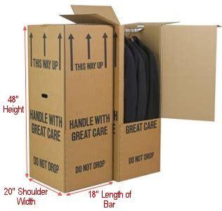Wardrobe Box With Metal Hanging Bar by Pack With Boxworks Wardrobe Moving Boxes With Hanging Metal Bar