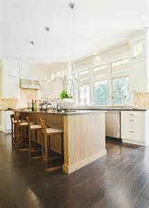 Grey Wood Floors Kitchen 34 Kitchens With Wood Floors Pictures