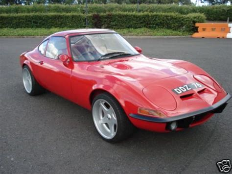 72 Opel Gt by Another Car 72 Opel Gt Well Stocked Garage