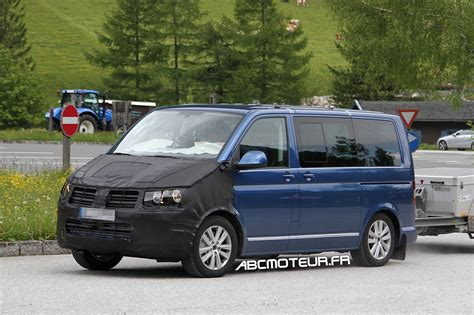 Future Volkswagen by 1 232 Res Photos Espions Pour Le Futur Volkswagen T6