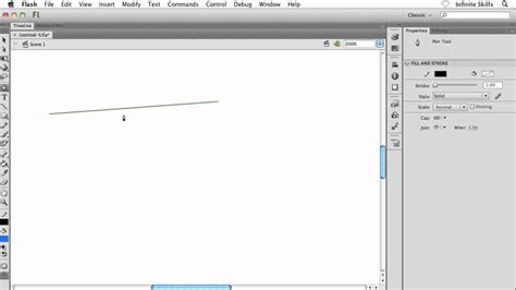 5 Drawing Tools In Adobe Flash by Adobe Flash Cs6 Tutorial Drawing With The Pen Tool