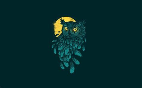 wallpaper for iphone 5 owl night owl minimal wallpaper hdwallpaperfx