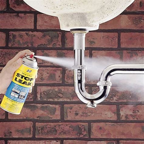 Stop Leak Plumbing by Households Pipes And Sprays On
