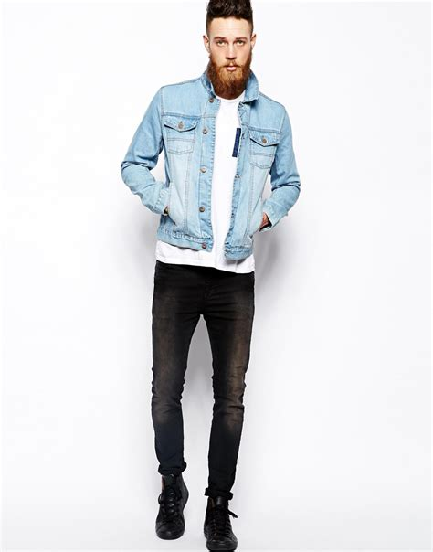 light blue denim jacket light jean jacket men jacket to