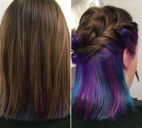 bright hair highlights ideas  pinterest dark