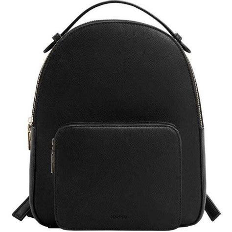Original Mango Pebbled Backpack mango zip pebbled backpack 160 brl liked on polyvore featuring bags backpacks backpack