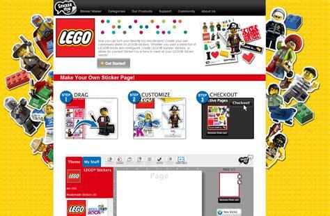 Custom Lego Stickers