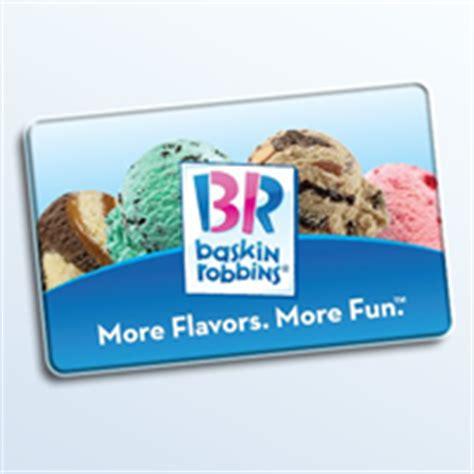 Baskin Robbins Gift Cards - ibc rosario perez design blog