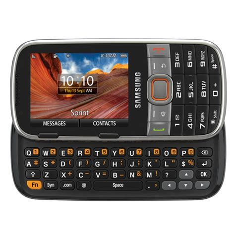 basic samsung qwerty phone with flash sammy hub samsung array sph m390 qwerty slider phone