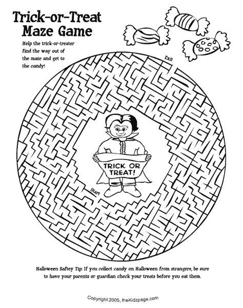 halloween maze printable festival collections printable maze games for halloween festival collections