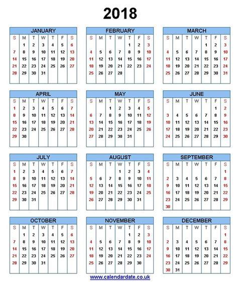 Calendar 2018 Desk With Holidays Calendar For 2018 Calendar