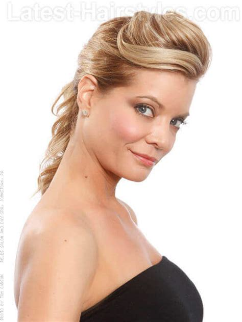 swept back hairstyles for women the most elegant mother of the bride hairstyles you ll
