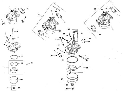 kohler carburetor diagram kohler carburetor diagram wiring diagram with description