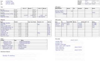 Sailing Log Book Template by The Charterer S Logbook 2011