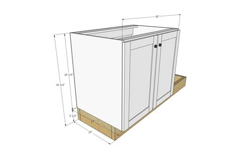 armoire dimensions euro style kitchen sink base cabinet for our tiny house